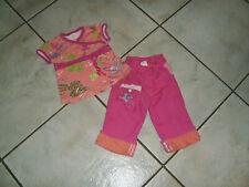 Super Kombi Gr. 80 CAKEWALK Hose + Tunika Shirt hummer pink neuwertig