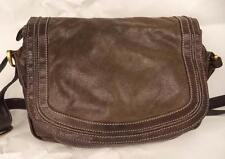 CLARKS BROWN LEATHER SATCHEL SHOULDER BAG HANDBAG