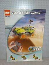 LEGO® Racers Bauanleitung 4589 RC Nitro Flash ungelocht instruction B461