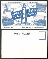 Old Canada Postcard - Fairview, Nova Scotia - Harbour Lights Lodge Multiview