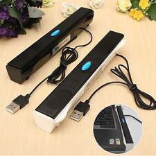 USB Mini Speaker LoudSpeaker Music Player for PC Laptop Notebook Portable