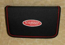 Scrabble ~ Travel Size Board Game Complete in Zip-Up Folio Storage Carrying Case