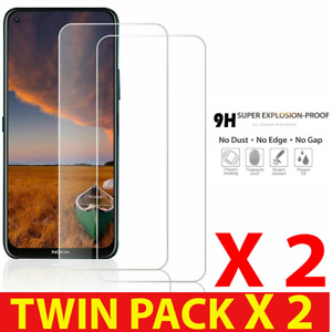 2PACK FOR NOKIA 8.3 1.3 2.3 100% PREMIUM QUALITY TEMPERED GLASS SCREEN PROTECTOR