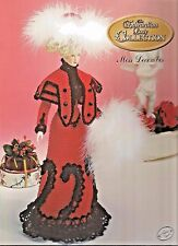 Edwardian Lady Collection Vol.12 Miss December Annie's Attic Crochet Pattern New