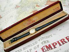 ROLEX TUDOR ROYAL 1961 9K GOLD COCKTAIL, SWEEP SECONDS, ORIGINAL BOX, SERVICED.