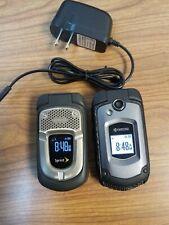 2 Kyocera Flip Phones