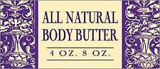 All Natural Body Butter Large