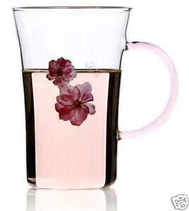 Flower Tea Cup Glass Tea Cup Designer Tea Cup Coffee Cup 250ml