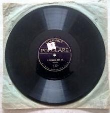 Disco 78 giri Columbia - Bernard - Il padrone son me / La glandola interstiziale