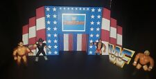 WWF WWE SUMMERSLAM 1993 HASBRO SCALE CUSTOM WRESTLING FIGURE STAGE