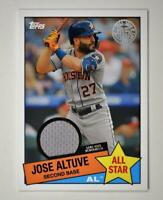 2020 Topps Series 2 1985 All Star Relic #85ASR-JA Jose Altuve - Houston Astros
