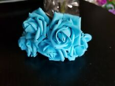 Foam Rose's x5. Turquoise