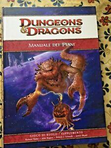 manuale fantasy - D & D - MANUALE DEI PIANI - ITALIANO