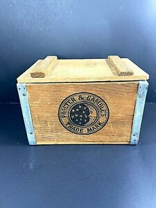 Rustic Wood IVORY Soap Box PROCTER & GAMBLE Stars Moon Vintage
