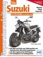 WERKSTATTHANDBUCH REPARATURANLEITUNG WARTUNG 5289 SUZUKI SFV 650 GLADIUS V2