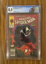 Amazing Spider-Man #316 CGC 8.5 Newsstand !~ 1st Venom Cover 🔥 🔑 Custom Label