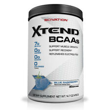 Scivation Xtend BCAA Powder 30 Servings Amino Acid Intraworkout Free Postage