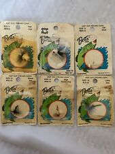 (6) Vintage Betts Tackle Flies & Poppers Fishing Lures