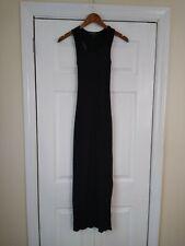 Derek Heart Dress Small Black Racerback EUC