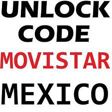 MOVISTAR MEXICO UNLOCK CODE SAMSUNG LG HTC ZTE HUAWEI NOKIA SONY MOTOROLA
