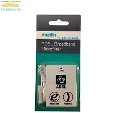 Certified Maplin ADSL Micro Filter Broadband BT Telephone Phone Microfilter