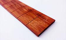 "Bubinga guitar fretboard, fingerboard 25.5"" IBANEZ slotted R16""- diapasón Ibanez"