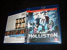Holliston Complete 2nd Season Blu Ray signed by Adam Green Joe Lynch Laura Ortiz
