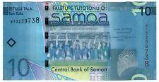 **   SAMOA     10  tala   2008   p-39a    UNC   **