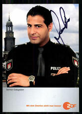 Serhat Cokgezen Notruf Hafenkante Autogrammkarte Original Signiert ## BC 7001