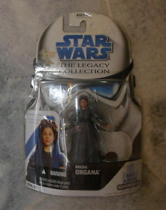 NEW Hasbro Star Wars Legacy Collection Breha Organa #27 with Droid Factory Part
