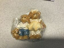 Cherished Teddies Bernard & Bernice- 1997 Members Only Ct972 Nip