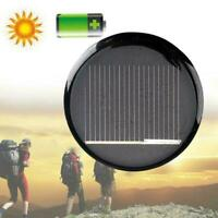 2V 100MA Black Mini Solar Panel System For DIY Battery Cell Phone Charger M I2T1