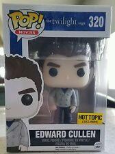 Funko Pop! Movies Sparkle Edward Cullen #320 Twilight Saga Hot Topic Exclusive