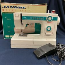 VTG Janome New Home Limited Edition Model 108 Sewing Machine W Original Box