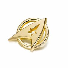 Star Trek Gold Plated Starfleet Communicator Brooch Badge Lapel Pin