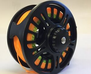 Fly Fishing Reel 7/8 Fully Loaded- Backing,Fly line,Leader, from Aussie Guide