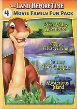 The Land Before Time II-V (2 3 4 5) 2-DVD 4-MOVIE Family Fun Pack BRAND NEW SEAL