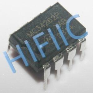 5PCS MC34262P POWER FACTOR CONTROLLERS DIP8