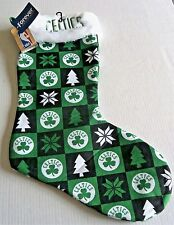 "BOSTON CELTICS Collectible Christmas Stocking 22""T x 13""W  Forever Collectables"