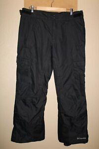 """COLUMBIA Mens Large L 34-36""""W 30""""L Omni-Heat Snow/Snowboard Pants"""