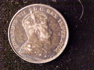 EDWARD VII 10 CENTS 1902-H