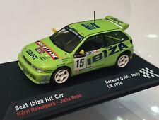 1/43 Seat Ibiza Kit Car Rally Rac Rallye red Q GB 1996 Harri Rovanpera
