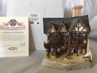 Rare David Winter Cottage THE GRANGE in original box with COA - B
