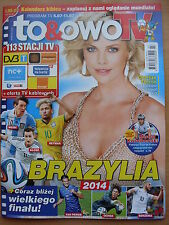 Charlize Theron on front cover To & Owo TV Magazine; Drew Barrymore,K.Knightley