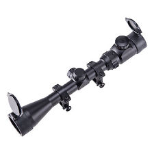 Red & Green Mil-Dot Illuminated 3-9X40 E Optics Hunting Air Sniper Rifle Scope