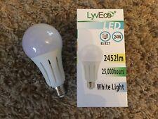24W LED Light Bulb GLS E27 ES Edison Screw in Cap  (150W Very Bright)