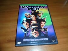Mystery Men (Dvd, 2000, Widescreen) Used Ben Stiller, Janeane Garofalo Oop
