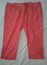 Rockmans orange 3/4 pants -Womens pants