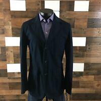 Tommy Hilfiger Sport Coat Unstructured Blazer 3 Button Jacket Cotton Sz 42Long
