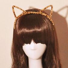 Lady's Charming Furry Cat Ears Headband Devil Cat Head Hoop Hair Accessories